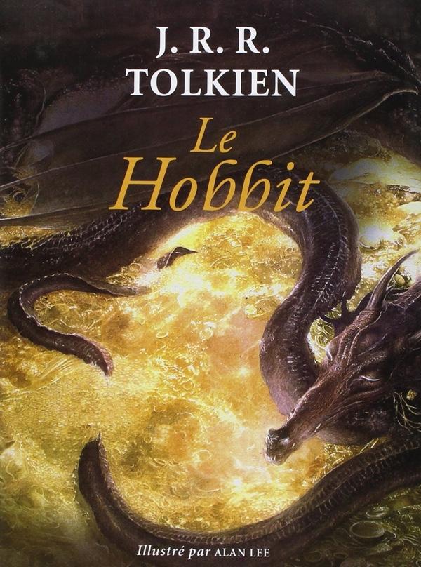Le hobbit - Tolkien - couverture
