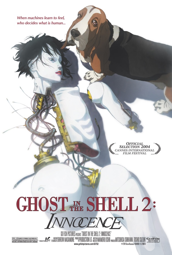 Ghost in the shell 2 - affiche