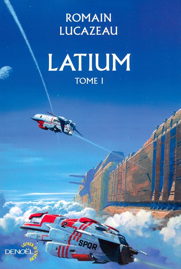 Latium tome 1 - Lucazeau - couverture