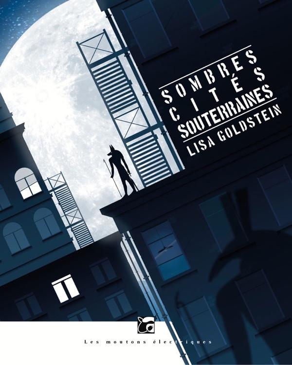 Sombres cités souterraines - Goldstein - couverture