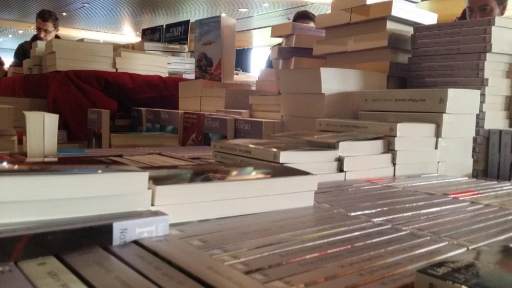 Des montagnes de livres !